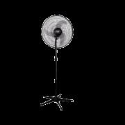 Ventilador Tron oscilante pedestal preto 60cm 140W