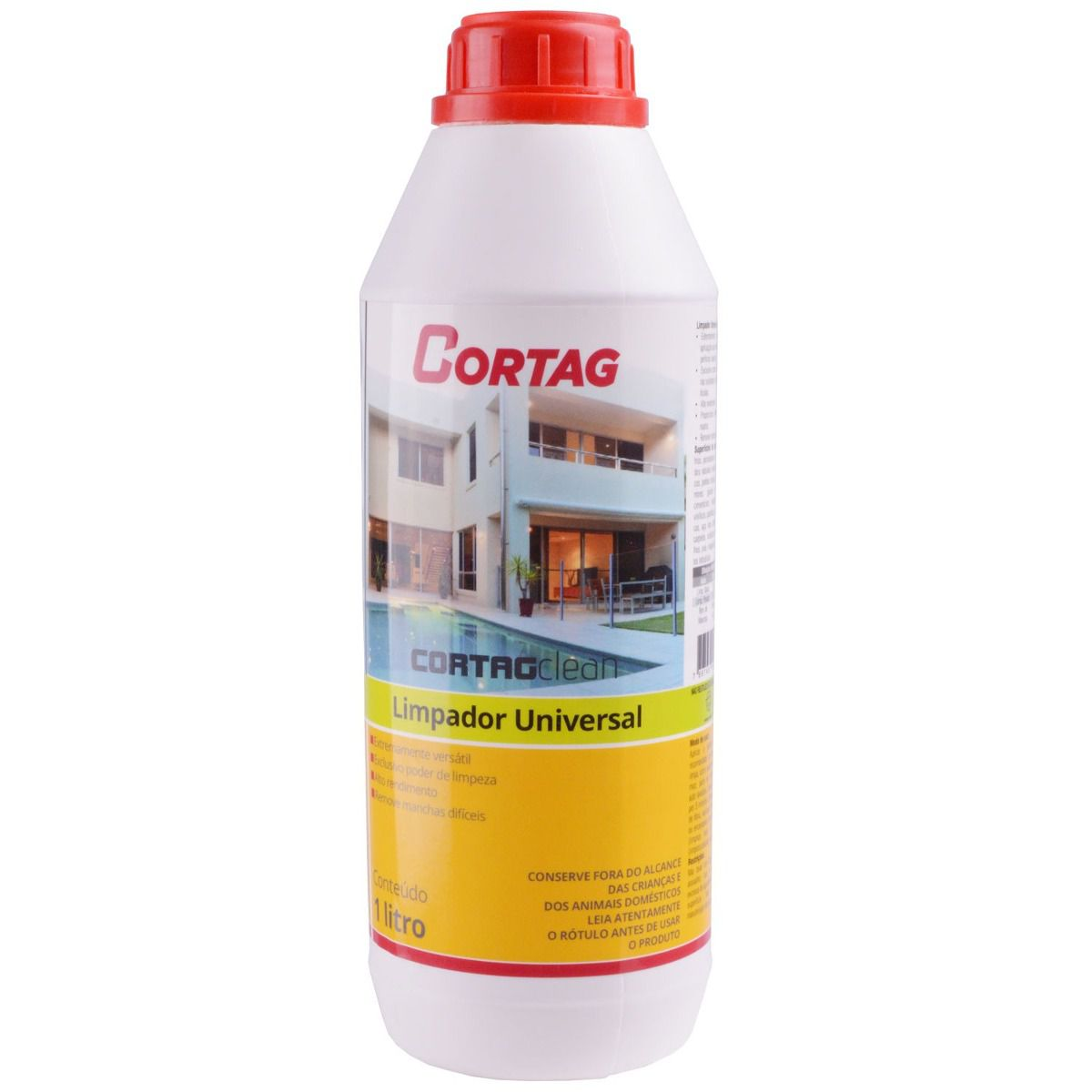 Limpador para porcelanato CortagClean 1L