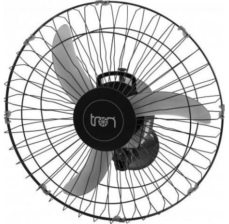 Ventilador Tron parede bivolt preto 60cm 140W