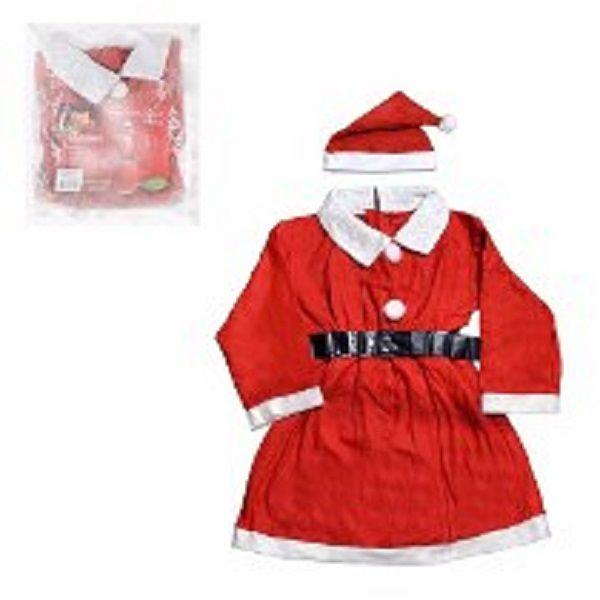 ebde5c872 ... Roupa Infantil Mamãe Noel Para Crianças de 09 a 10 Anos Vestido Natalino