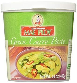 Pasta De Curry Verde - Mae Ploy - Tailandia - 400g Lq Th