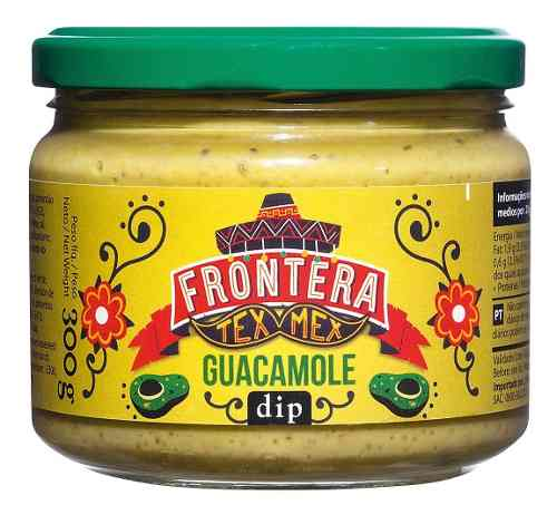 Guacamole Comida Tex Mex Dip Sauce Tortillas 300gr Mx