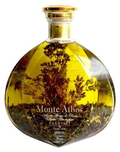 Azeite De Oliva Grego com Especiarias Monte Athos 700ml