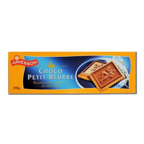 Biscoito Chocolate Alemão Griesson150gr Petit Beurre