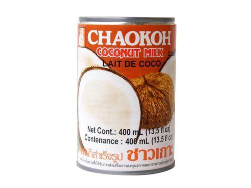 Leite De Coco Tailandês Chaokok 75% Extrato 400ml
