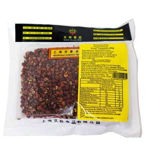 Pimenta Chinesa Natural Bolinha Sichuan Prickly Ash 60g