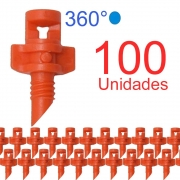 Microaspersor Single Piece 360º - 100 Unidades