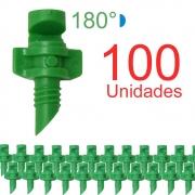 Microaspersor Single Piece 180º - 100 Unidades