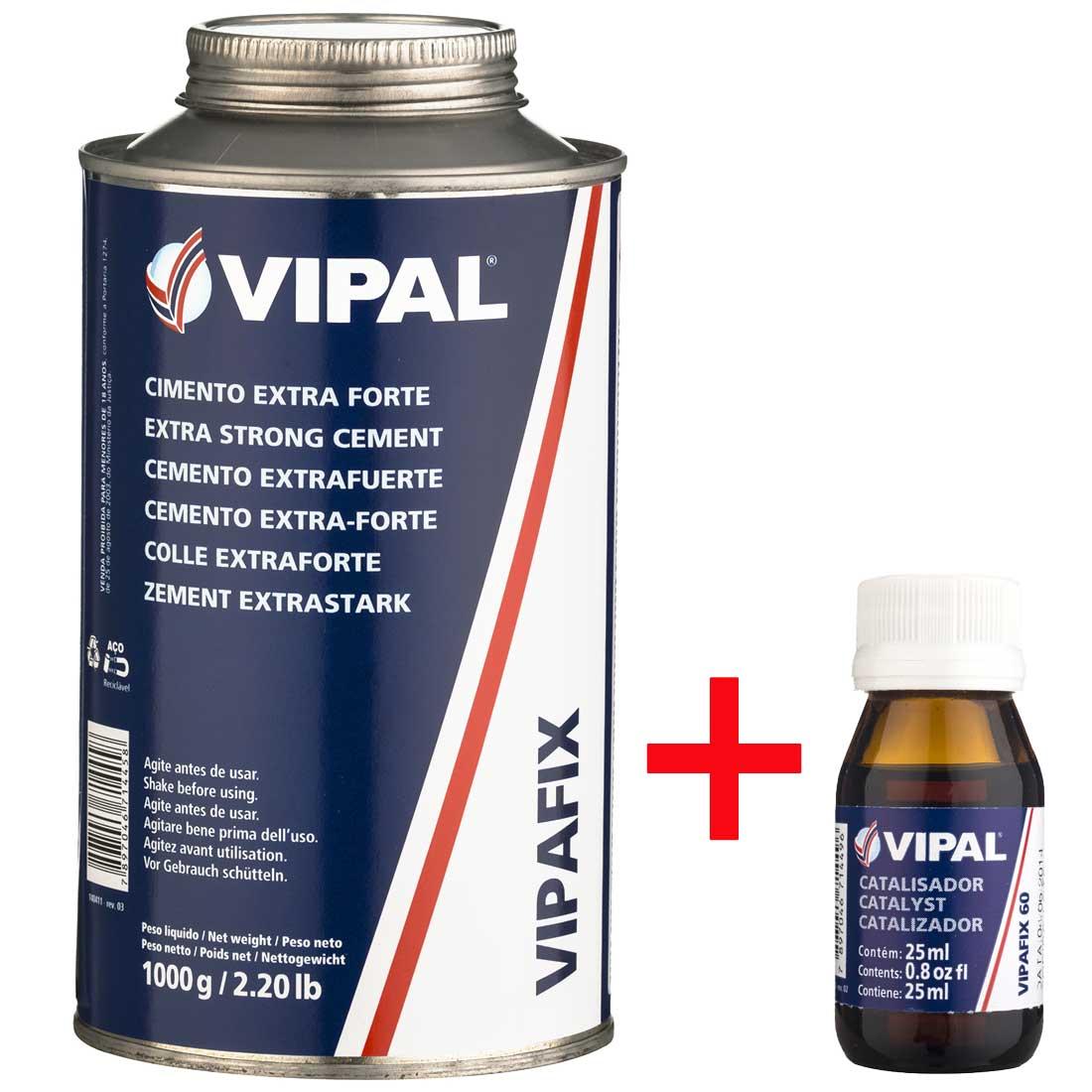 Cimento Extra Forte Vipafix + Catalisador