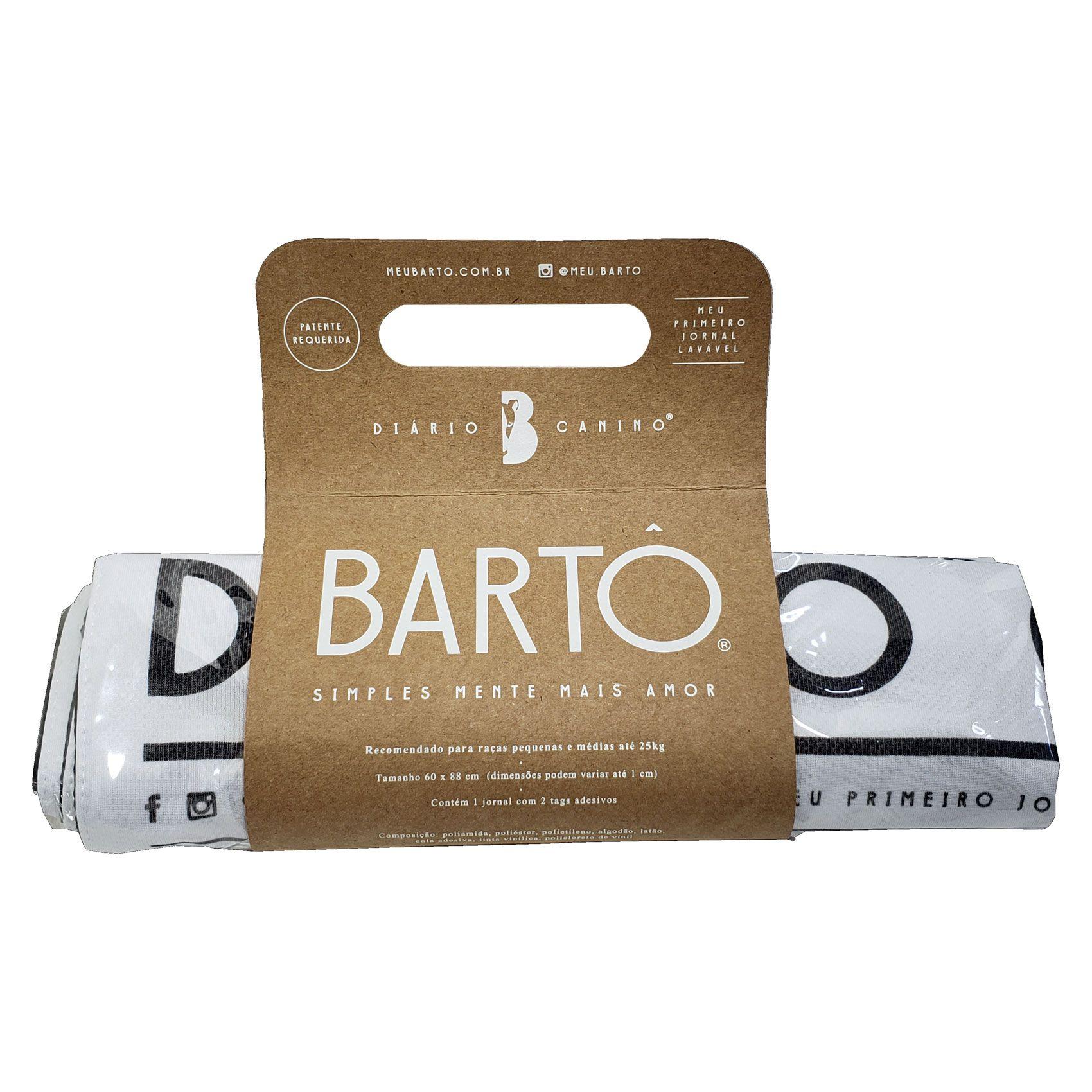 1 Diário Canino Meu Bartô - O Melhor Tapete Higiênico para Cães