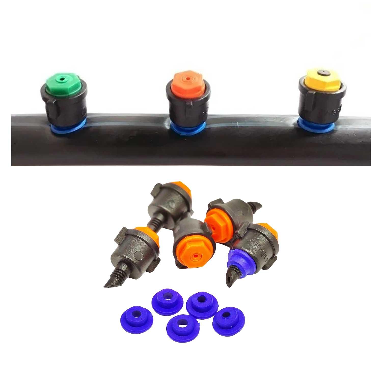 Microaspersor MA30 + Chula - 50 Unidades de Cada