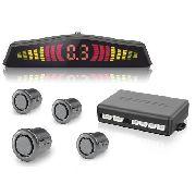 10 Kits Sensor De Estacionamento Ré Pontos Universal Display