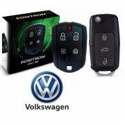 Alarme Carro Automotivo Pósitron Ex 360 Exact Universal + Chave Canivete VW