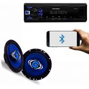kit MP3 Player Automotivo Pósitron SP2230BT + Auto Falantes 6