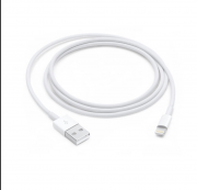 Kit 10 Cabos Carregador Branco Iphone 5 / 5s / 6 / 6s / 7 / 7s / 8 / X
