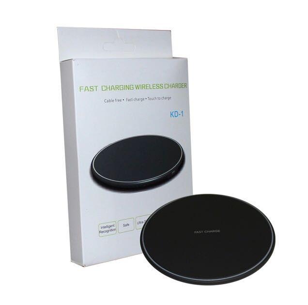 Carregador Indução Sem Fio Wireless Fast Charger 8 / X / S6 / S7 / S8