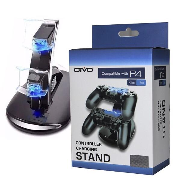 Carregador Vertical Controle PS4  Dock Station Dualshock Playstation 4