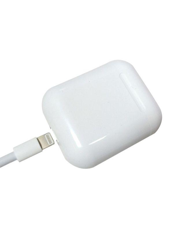 Fone de Ouvido S/Fio Bluetooth 5.0 R10 Touch Carregador Wireless