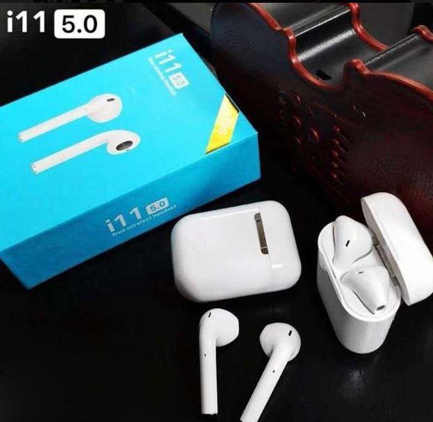 Fone de Ouvido Sem Fio Bluetooth 5.0 I11s Tws Touch
