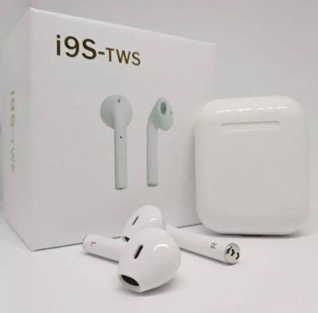 Fone de Ouvido Sem Fio Bluetooth 5.0 I9s Tws + Relogio Smartwatch Pedometro D13 Preto