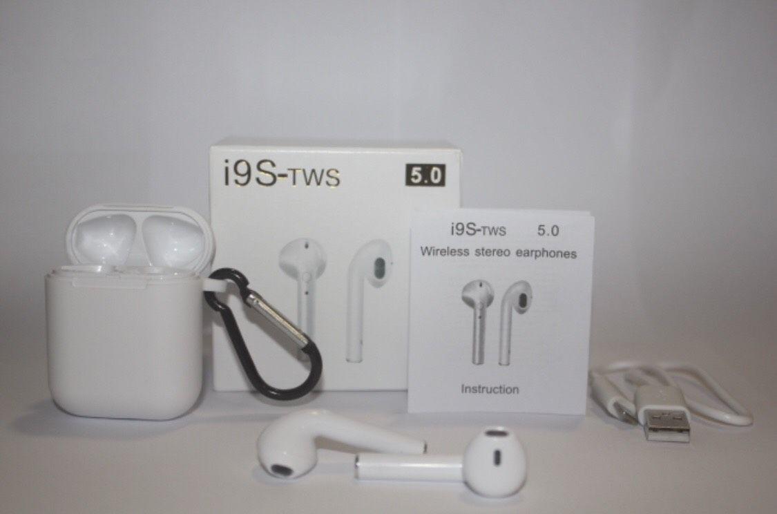 Fone de Ouvido Sem Fio Bluetooth I9s Tws (Kit: 2 pares)