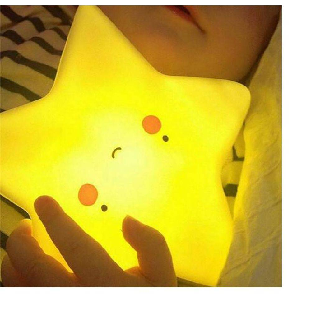 Mini Abajur Infatil Estrela Luminária luz noturna