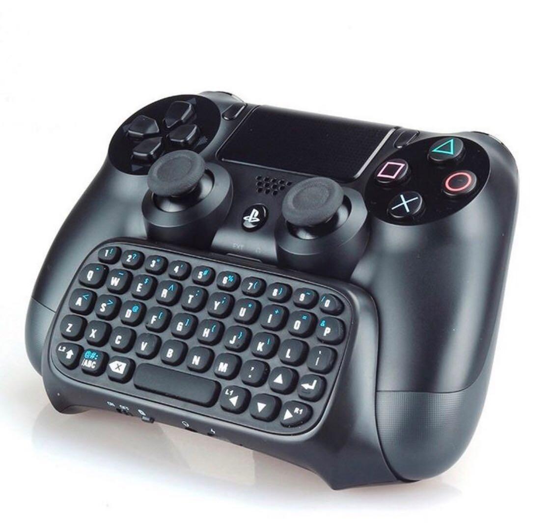 Teclado sem Fio para Controle PS4 Wireless Keyboard PS4