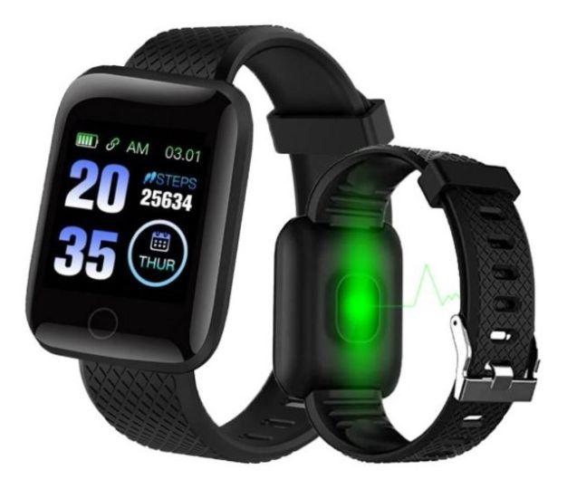 Relogio Inteligente Smartwatch D13 Vermelho Pedometro Multi-esportes Km Kcal FC PA Sono