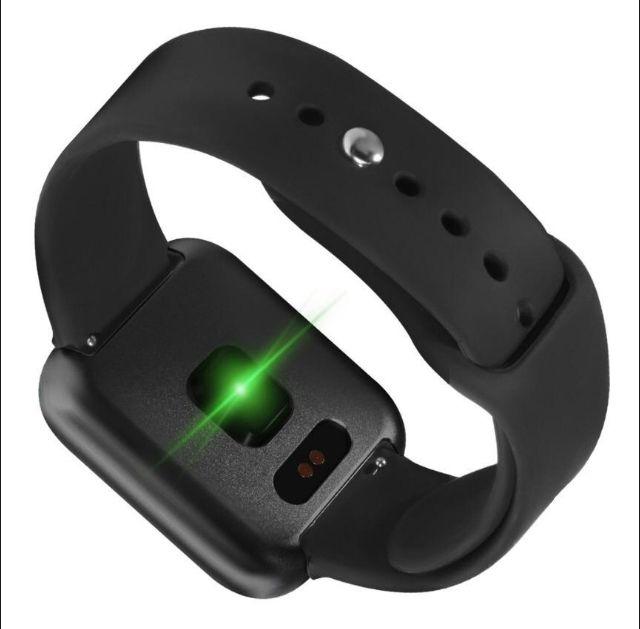 Relogio Inteligente Smartwatch P80 Preto Pedometro Multi-esportes Km Kcal FC PA Sono