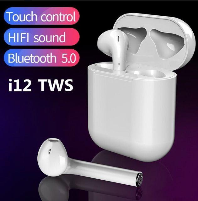 Relogio Inteligente Smartwatch P80 Rosa + Fone de Ouvido Bluetooth i12 touch