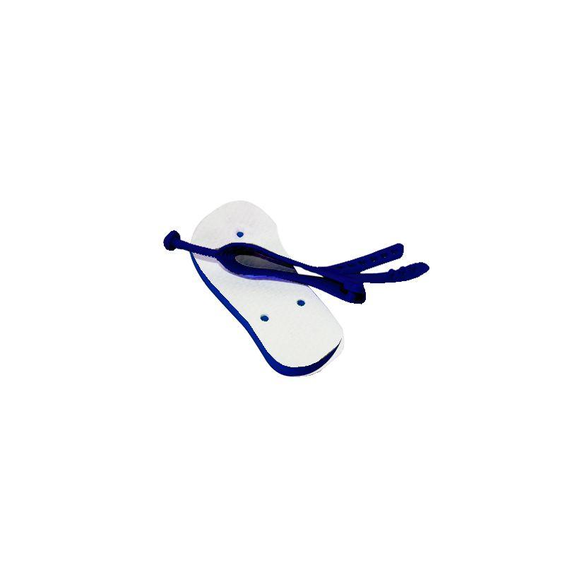 Chinelo baby para sublimação - Azul Marinho