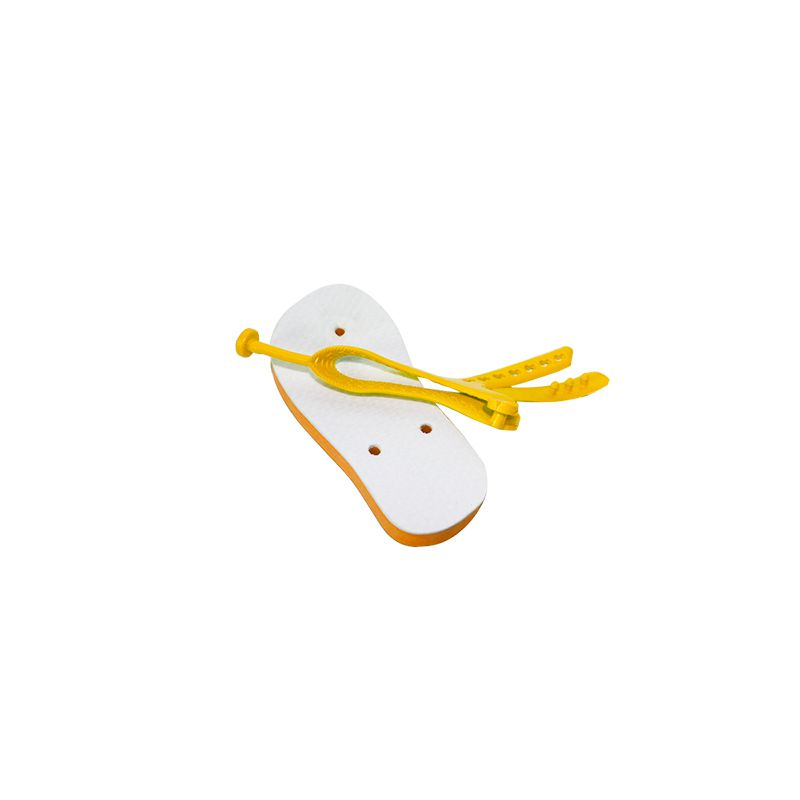 Chinelo baby para sublimação - Amarelo