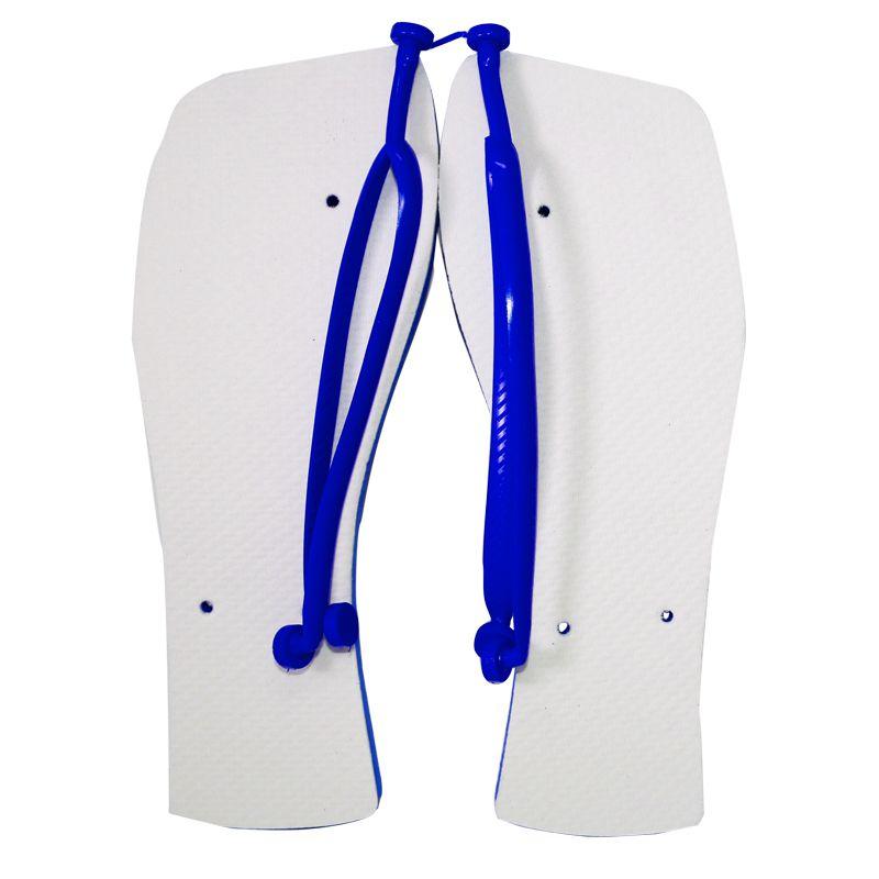 Chinelo Rasteirinha  para Sublimação - Azul Royal