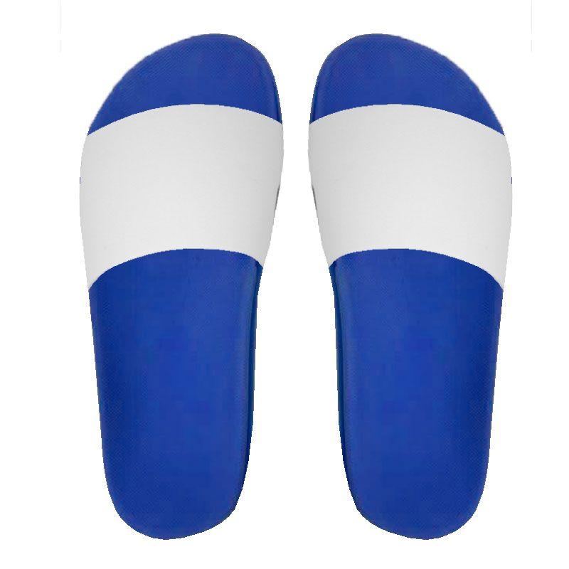 Chinelo Slide para sublimação - Azul Royal