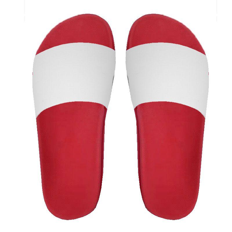 7ad4fe755 Chinelo Slide para sublimação - Vermelho - Shopping da Sublimação