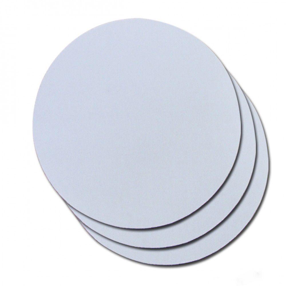 Mouse Pad para sublimação - Redondo - Pacote com 10