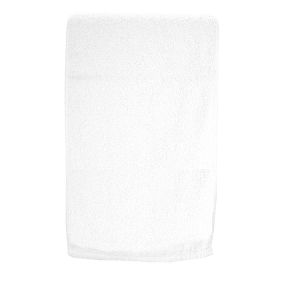 Toalha de rosto branca - Pacote com 5