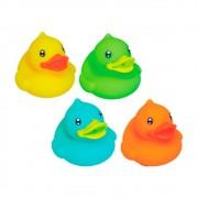 Amiguinhos do Banho Patinhos (4 unidades) - Pura Diversão