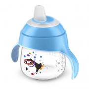 Copo Pinguim 200ml Azul (SCF751/05) - Philips Avent