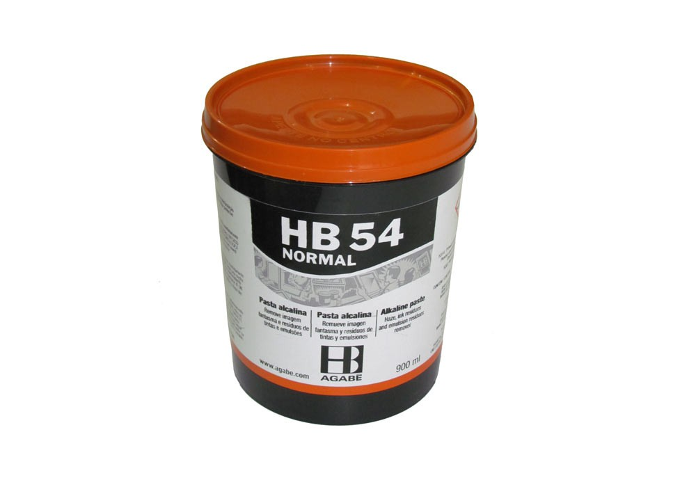 Hb 54 Pasta Alcalina Normal 900ml  - Via Silk