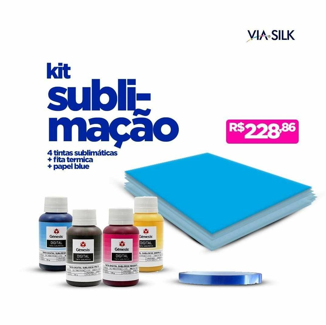 Kit Sublimação  - Via Silk