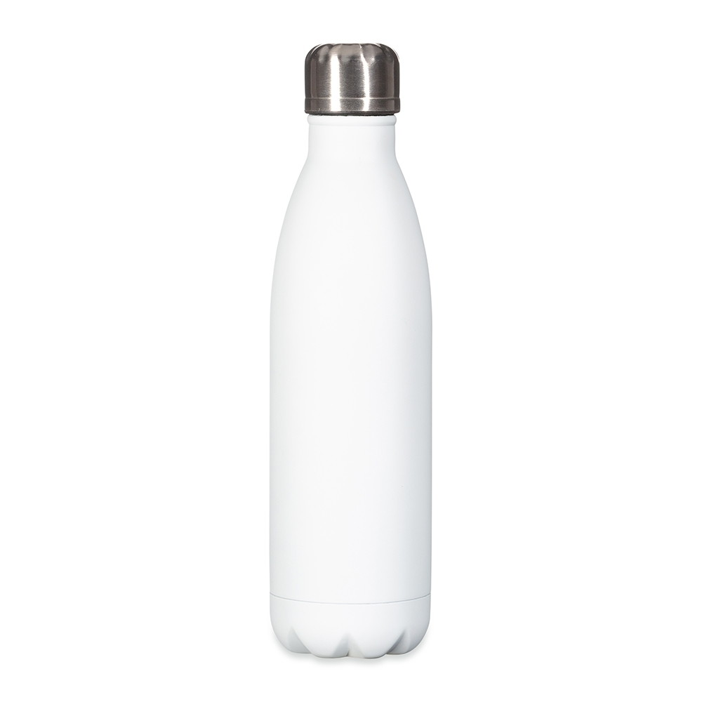 Squeeze inox Branco 500ml  - Via Silk