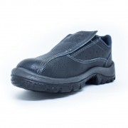 Sapato de Segurança de Elástico em Vaqueta – Crival CP050