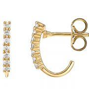 Brincos Ouro com Diamantes - A270