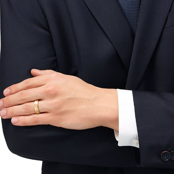 Alianças Casamento Ouro 5mm Trabalhada com Zircônias - A024