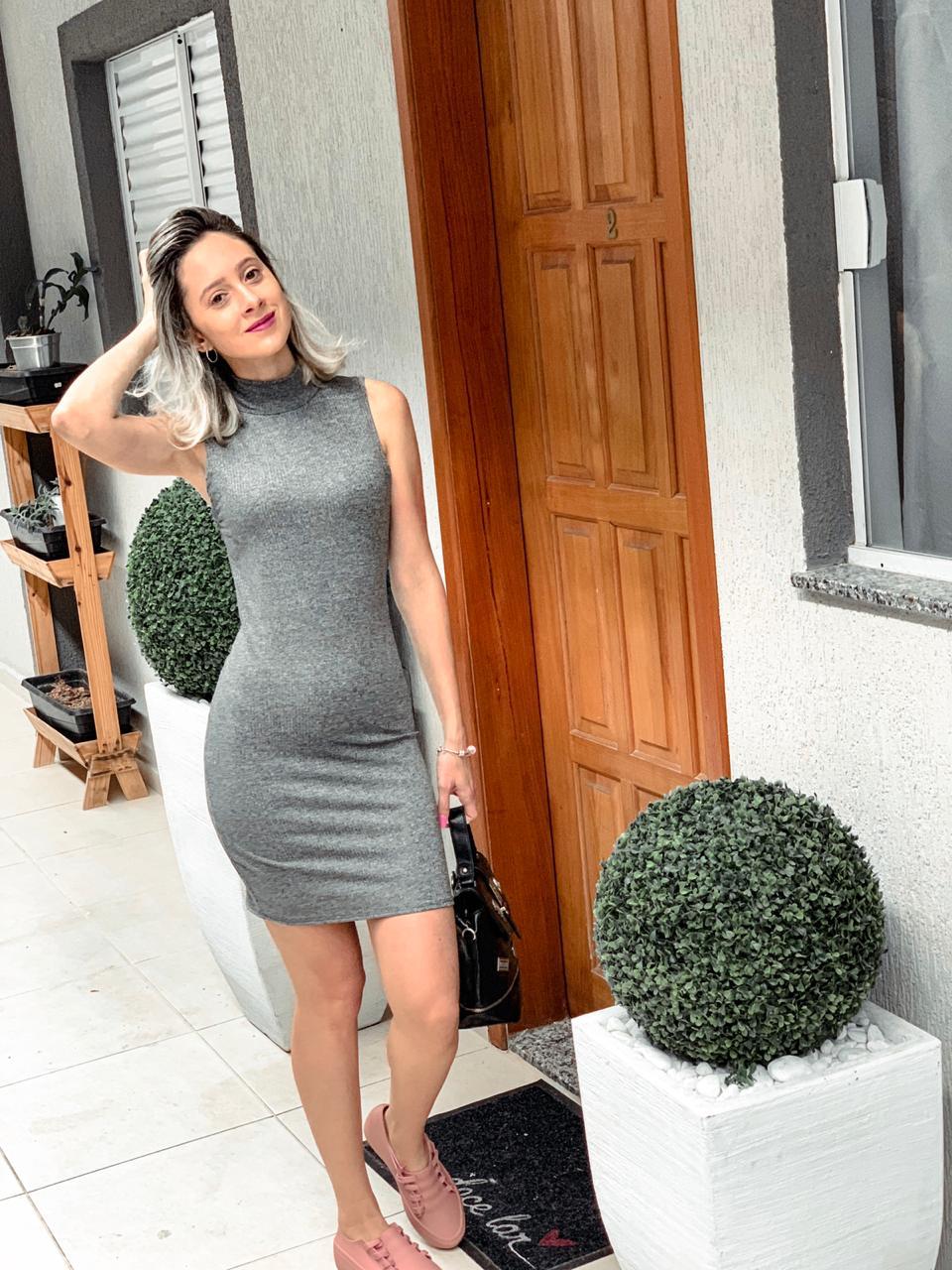 437e4b98f Vestido Gola Talita - Jessy Atacado