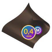 Folha Manta Magnética Imã Natural 0,4mm - A4 - 21x30cm