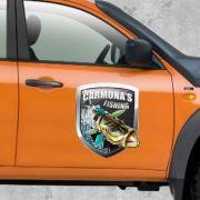 Imã Para Carro Personalizada - FACA ESPECIAL -  Manta Magnética 0,8mm