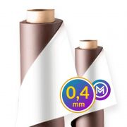 Rolo Imã Manta Magnética 0,4mm Adesivada - 62cm Largura