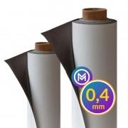 Rolo Imã Manta Magnética 0,4mm Vinílica- 61cm Largura